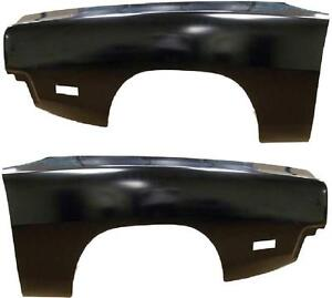 Amd 69 Dodge Charger Front Fender Pair Lh Rh