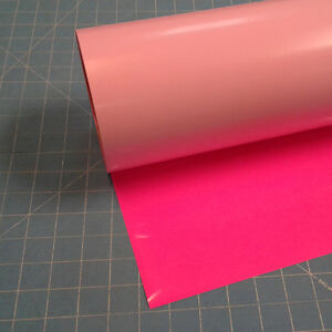 Fluorescent Pink Siser Easyweed 15 By 15 Feet Heat Transfer Vinyl
