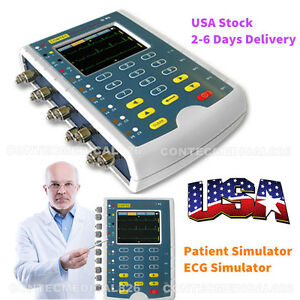 Us Seller New Ms400 Portable Multi Parameters Patient Simulator Ecg Simulator