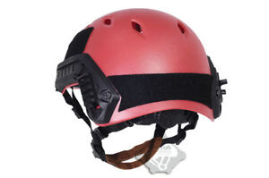 2017 Tactical LIGHTWEIGHT OPS-CORE FAST ABS Base Jump Military Helmet Red TB285