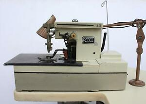 Reece S3 Bar Tacker Chainstitch Heavy Duty Industrial Sewing Machine 110v