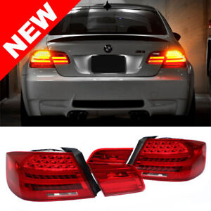 2007 2013 Bmw E92 2d Coupe Lci Amber Led Signal Rear Tail Lights M3