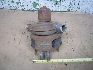 Vintage Plymouth Dodge Chrysler Heater Box Motor Housing Chevy Ford Rat Rod F