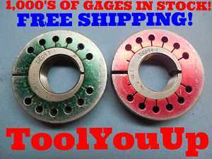 1 5471 18 Ns 3 Thread Ring Gages Go No Go P d s 1 5110 1 5070 Tooling Tools