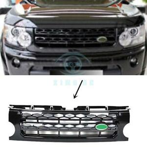 For Land Rover Discovery Lr3 2005 09 New Black Front Grille Trim Replacement
