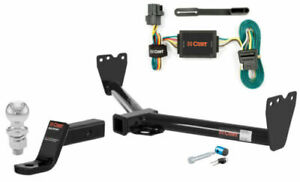Curt Class 3 Trailer Hitch Tow Package W 2 Ball For Kia Sorento