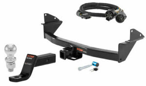 Curt Class 3 Trailer Hitch Tow Package W 2 Ball For Chevy Colorado Gmc Canyon