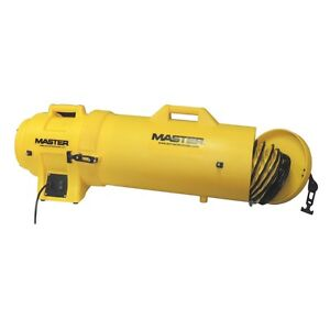 Master Mb p0813 dc25 Confined Space Ventilation Blower W Canister