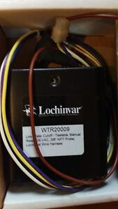 Lochinvar Low Water Cutoff Heater Manual Reset Wtr20009 24 Vac no Probe