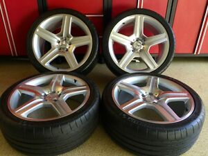Mercedes 20 In 63 Rims Wheels Set4 New Fit For Cls Cls500 Cls550 Cls55 Cls63 Amg