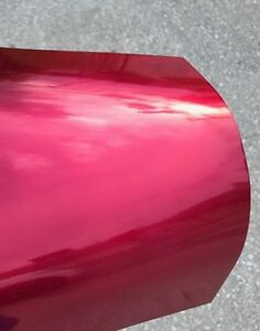 Transparent Red candy Apple Red Powder Coat Paint New 1lb