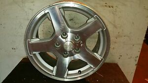 2005 Jeep Grand Cherokee Limited 17x7 1 2 Machined 5 Spoke Alloy Wheel 1