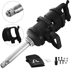 5000ft lb Air Impact Wrench 1 Drive Gun Long Commercial Truck