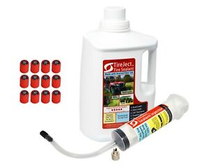 Tireject Off road Tire Sealant Gallon Kit Value Size For Punctures Bead Leaks