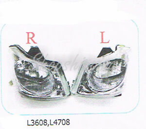 Set Head Light Head Lamp Assembly Use For Kubota Tractor L3608 L4708