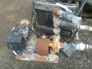 Lombardini 1 Cylinder Diesel Engine 6ld260 With 2 Water Pump Runs Good