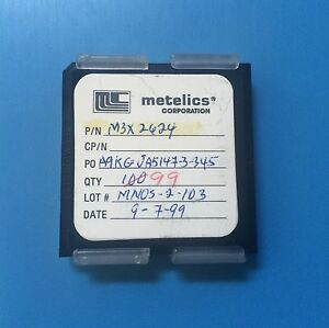M3x2624 Metelics Capacitor Chip Rf Microwave 99 units