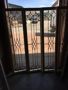 Sg 1378 4available Price Separate Beveled And Leaded Glass Window 14 X 44 25