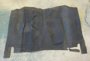 1960 1961 60 61 Dodge Lancer Plymouth Valiant Rubber Floor Mat Nos