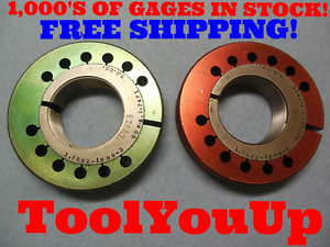 1 7832 18 Ns 3 Thread Ring Gages Go No Go P d s 1 7471 1 7426 Tooling Tools