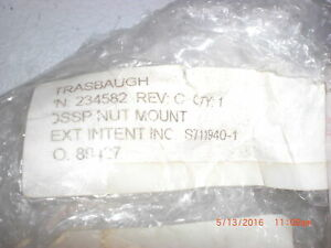 Oem Part Strasbaugh 234582 Dssp Nut Mount