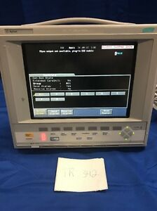 Hp Agilent Phillips Viridia V24c Color Patient Monitor Monitor Only