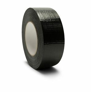 Black Duct Tape 2 X 60 Yds 144 Rolls 7 Mil For Box Packing