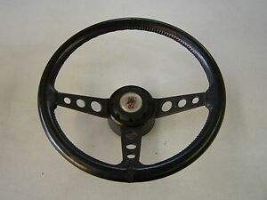 Oem Ford Mustang Truck Fairmont Leather Sport Steering Wheel 1978 1979 Button
