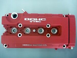 Honda Oem Genuine Type R Red Valve Cover Civic Ek9 Integra Dc2 For B series Nib