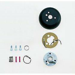 Grant Products Steering Wheel Installation Kit Matte Black Aluminum Chevy Olds
