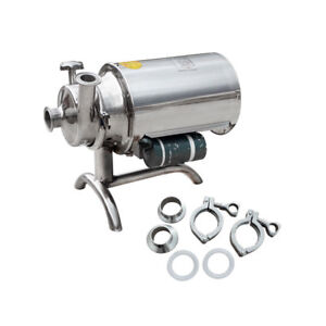 Eco Sanitary Pump Stainless Steel Sanitary Beverage Milk Delivery Pump 3t h