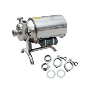 Eco Stainless Steel Sanitary Pump Sanitary Beverage Milk Delivery Pump 3t h