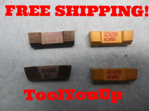 2pcs New Kennametal Gc 4250 Kc850 1pc K68 1pc Gc4187k 313 Inserts Cnc Tools