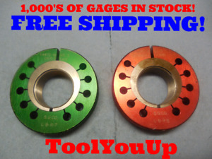 1 4472 18 Ns 3 Thread Ring Gages Go No Go P d s 1 4111 1 4068 Precision