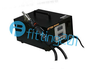 Dual Lcd 2 In 1 Atten 220v At 8502d 700w Pro Hot Air Rework Iron Soldering