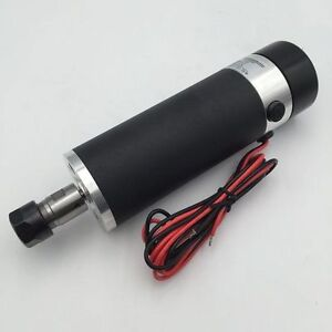 350w 600w Dc Spindle Motor 24v 110v Er11 er16 Brushless Air cooled Cnc Router