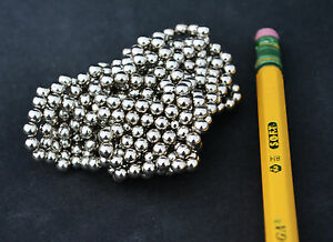 500 Strong Magnets Spheres Balls 4mm 5 32 Neodymium Us Seller