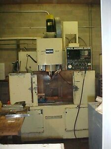 Takisawa Cnc Vertical Machining Center Mac v2 Fanuc 6m