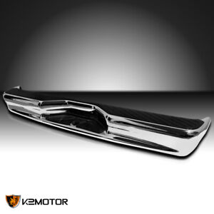 92 14 Ford Econoline Van E 150 250 350 Chrome 1pc Rear Bumper Step With Pad