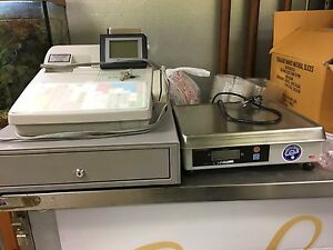 Electronic Cash Register With Weight Scale Integration Great Condition
