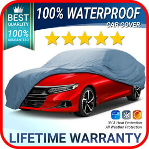 Honda accord Car Cover Weatherproof Waterproof Warranty custom fit