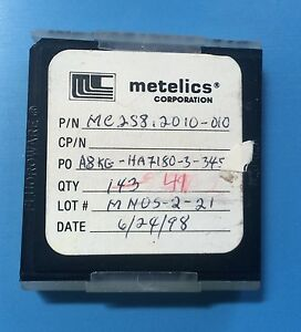 Mc2s8 2010 010 Metelics Capacitor Chip Rf Microwave 49 units