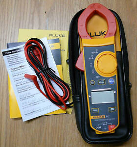 New Fluke Clamp Meter 317 True rms 37mm Ac Dc 6000 0 01