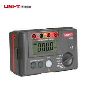 1pcs Uni t Ut522 Megger Digital Earth Ground Insulation Resistance Tester New