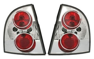 Chrome Clear Finish Tail Rear Lights For Vw Passat 3bg 00 05