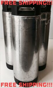 Ball Lock Keg Corny Keg Tank 5 Gallon Homebrew Beer Kombucha Coffee b Grade