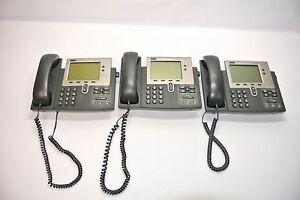 Cisco Ip Phone Cp 7940g Lot 3