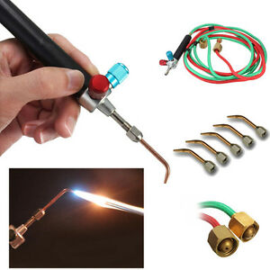 Smith New Top Gas Torch Welding Soldering Little Torch Soldering With 5weld Tips