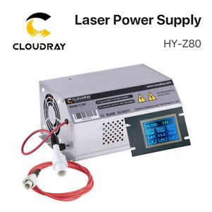 80 100w Co2 Laser Power Supply 110v 220v Lcd Display Laser Engraving Cutting