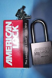 American Lock 7301 Padlock With Rekeyable Tubular Key Cylinder 7 16 Shackle